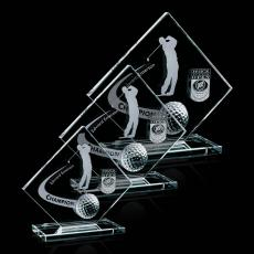 Clear Glass Awards - Barrick Golf Award