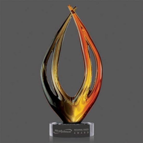 Sanson Award on Clear Base