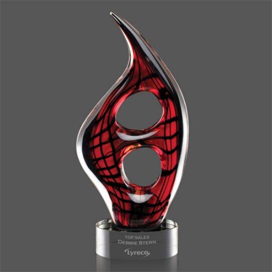 Zephyr Award on Clear Base