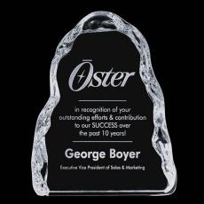 Custom-Engraved Crystal Awards - Carling Iceberg