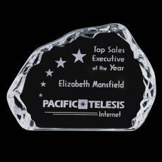 Custom-Engraved Crystal Awards - Aspen Iceberg