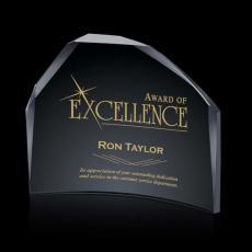 Custom-Engraved Crystal Awards - Roehampton Award