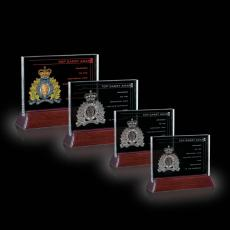 Custom-Engraved Crystal Awards - Walkerton