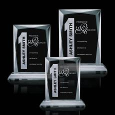 Custom-Engraved Crystal Awards - Messina Award