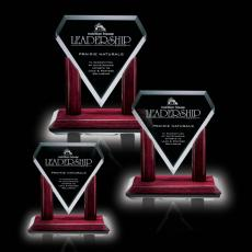 Custom-Engraved Crystal Awards - Marquise Award