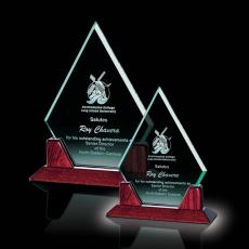 Custom-Engraved Crystal Awards - Middlebrook Award