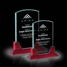 Custom-Engraved Crystal Awards - Thornton Award