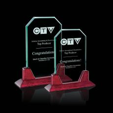 Custom-Engraved Crystal Awards - Aylesford Award
