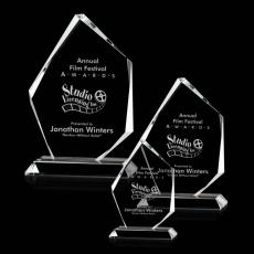 Custom-Engraved Crystal Awards - Mercer Award