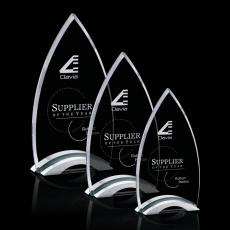 Custom-Engraved Crystal Awards - Patterson Award