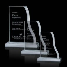 Custom-Engraved Crystal Awards - Labrador Award