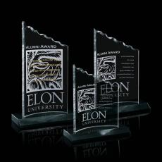 Custom-Engraved Crystal Awards - Lindsay Award