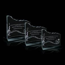 Custom-Engraved Crystal Awards - Minden Award