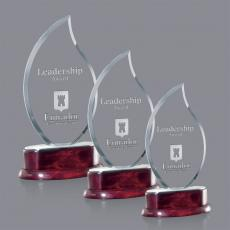 Custom-Engraved Crystal Awards - Shoreham Award