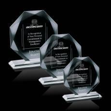 Custom-Engraved Crystal Awards - Kitchener Award