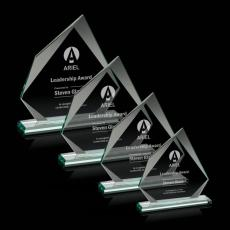 Custom-Engraved Crystal Awards - Lexus Award