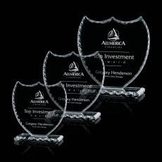 Custom-Engraved Crystal Awards - Willard Award