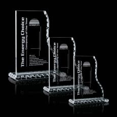 Custom-Engraved Crystal Awards - Payton Award