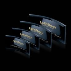 Custom-Engraved Crystal Awards - Bancroft Award