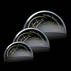Custom-Engraved Crystal Awards - Bluffwood Award