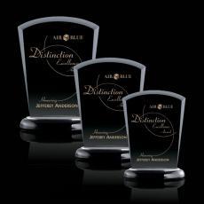 Custom-Engraved Crystal Awards - Solomon Award