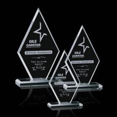 Custom-Engraved Crystal Awards - Tuscany Award