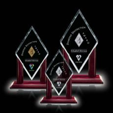 Custom-Engraved Crystal Awards - Mayfair Award