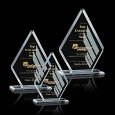 Custom-Engraved Crystal Awards - Canton Award