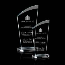 Custom-Engraved Crystal Awards - Tomkins Award