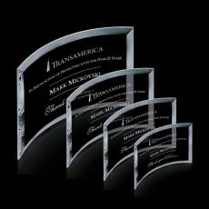 Custom-Engraved Crystal Awards - Madison Award