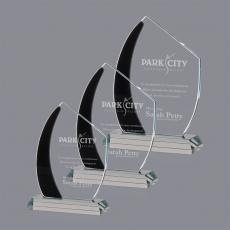 Custom-Engraved Crystal Awards - Hausner Award