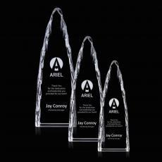 Optic Crystal Awards - Goderich Iceberg