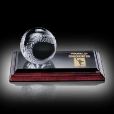 Clear Glass Awards - Baseball Award