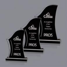 Custom Corporate Acrylic Awards - Marisol Award