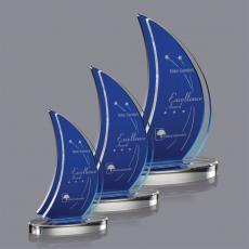 Blue Acrylic Awards - Matsuda Award