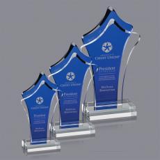 Blue Acrylic Awards - Tonga Award