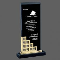 Custom Corporate Acrylic Awards - Lisbon Award