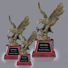 Trophy Awards - Pacific Eagle on Rosewood