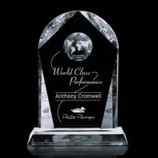 Optic Crystal Awards - Roslin Globe Award