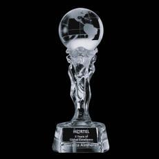 Optic Crystal Awards - Athena Globe Award