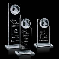 Optic Crystal Awards - Arden Globe Award