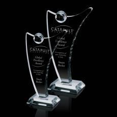 Optic Crystal Awards - Castello Globe Award