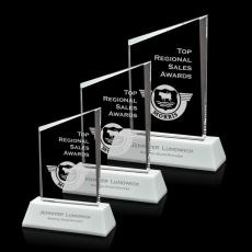 Custom-Engraved Crystal Awards - Prudencia Award