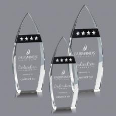 Custom-Engraved Crystal Awards - Brookshire Award