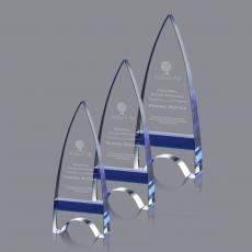 Custom-Engraved Crystal Awards - Kent Award