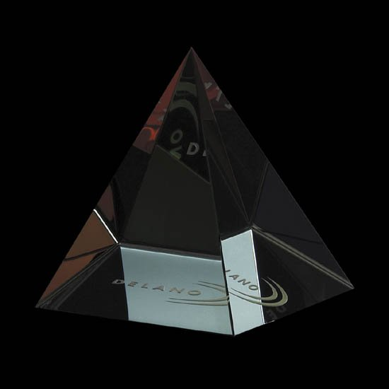 Colored Pyramid