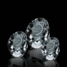 Custom-Engraved Crystal Awards - Danbury Award