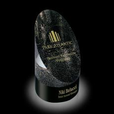 Custom-Engraved Crystal Awards - Venetia Award