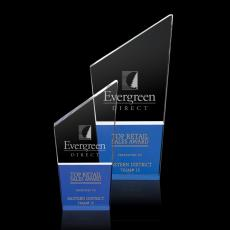 Custom-Engraved Crystal Awards - Vanier Award