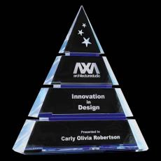 Custom-Engraved Crystal Awards - Gillespie Award